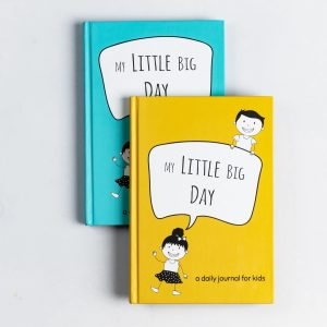 My Little Big Day Journal (Yellow & Blue Book Bundle)